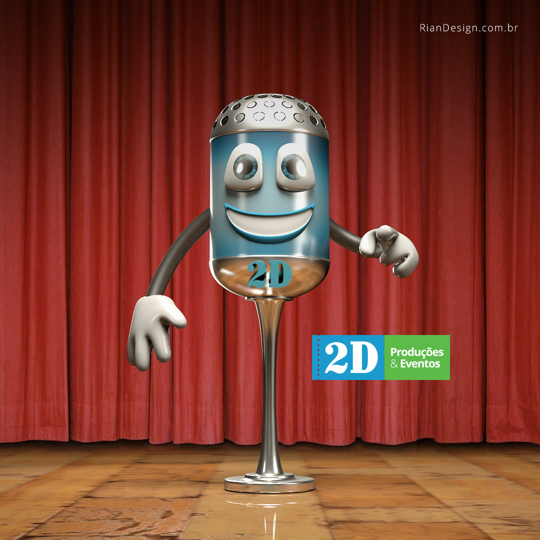 2d-mascote