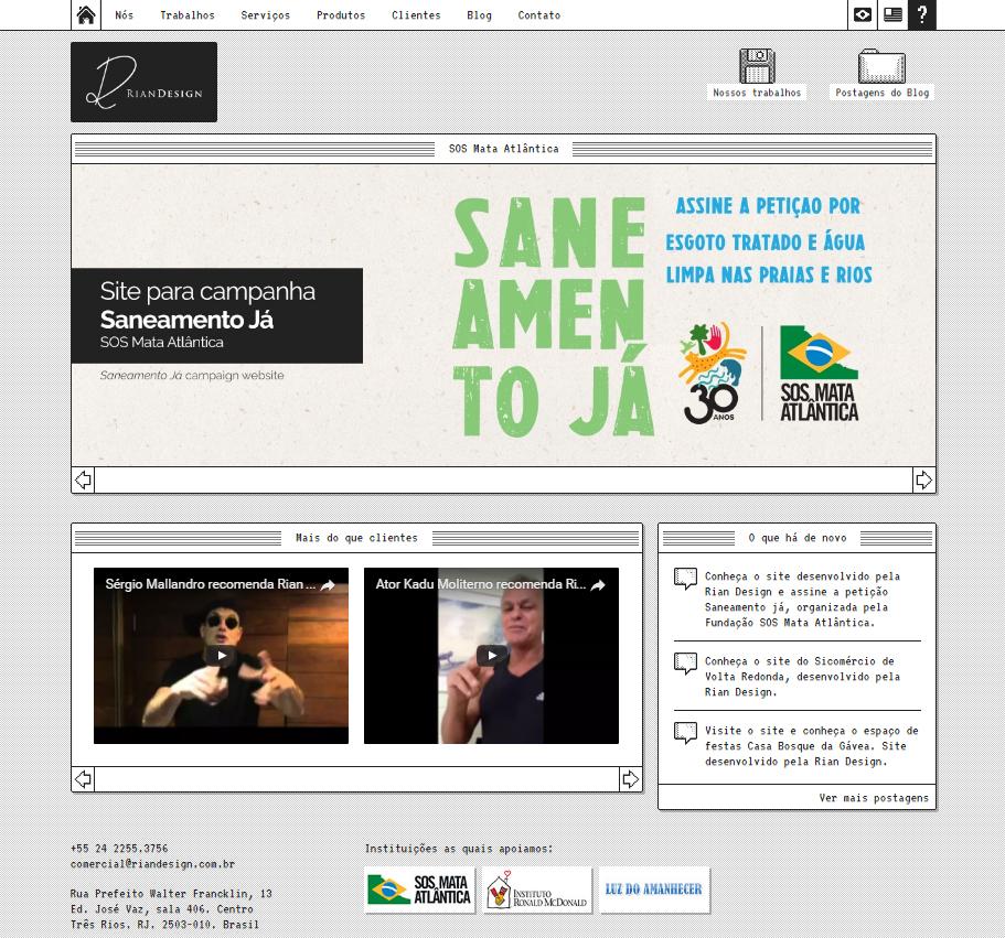 Print site Rian Design