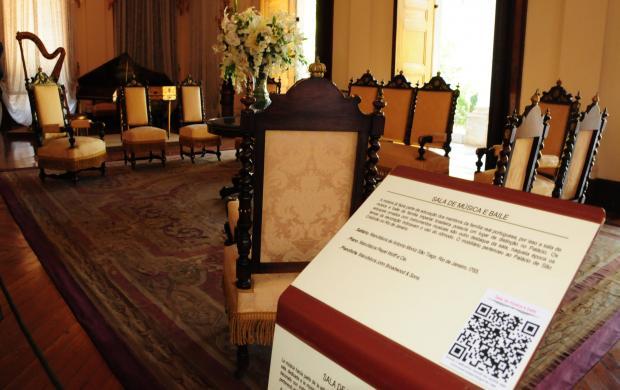 Museu Imperial Aplicativo QR Code História em Mãos - foto