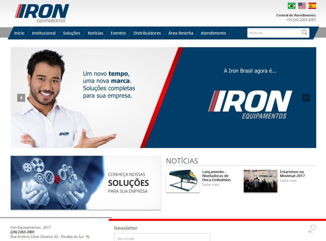 Iron layout