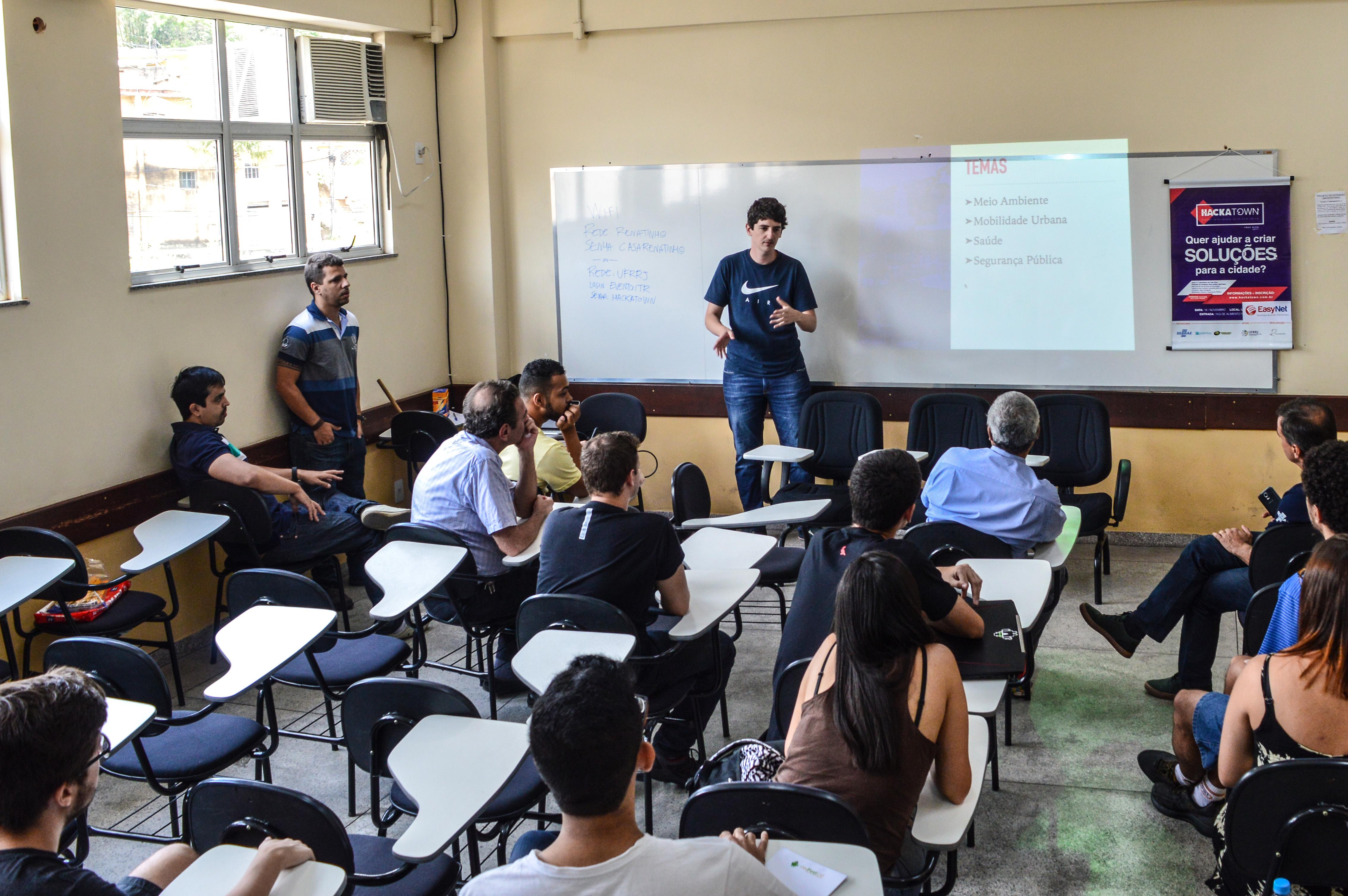 HackaTown Três Rios - Hackathon