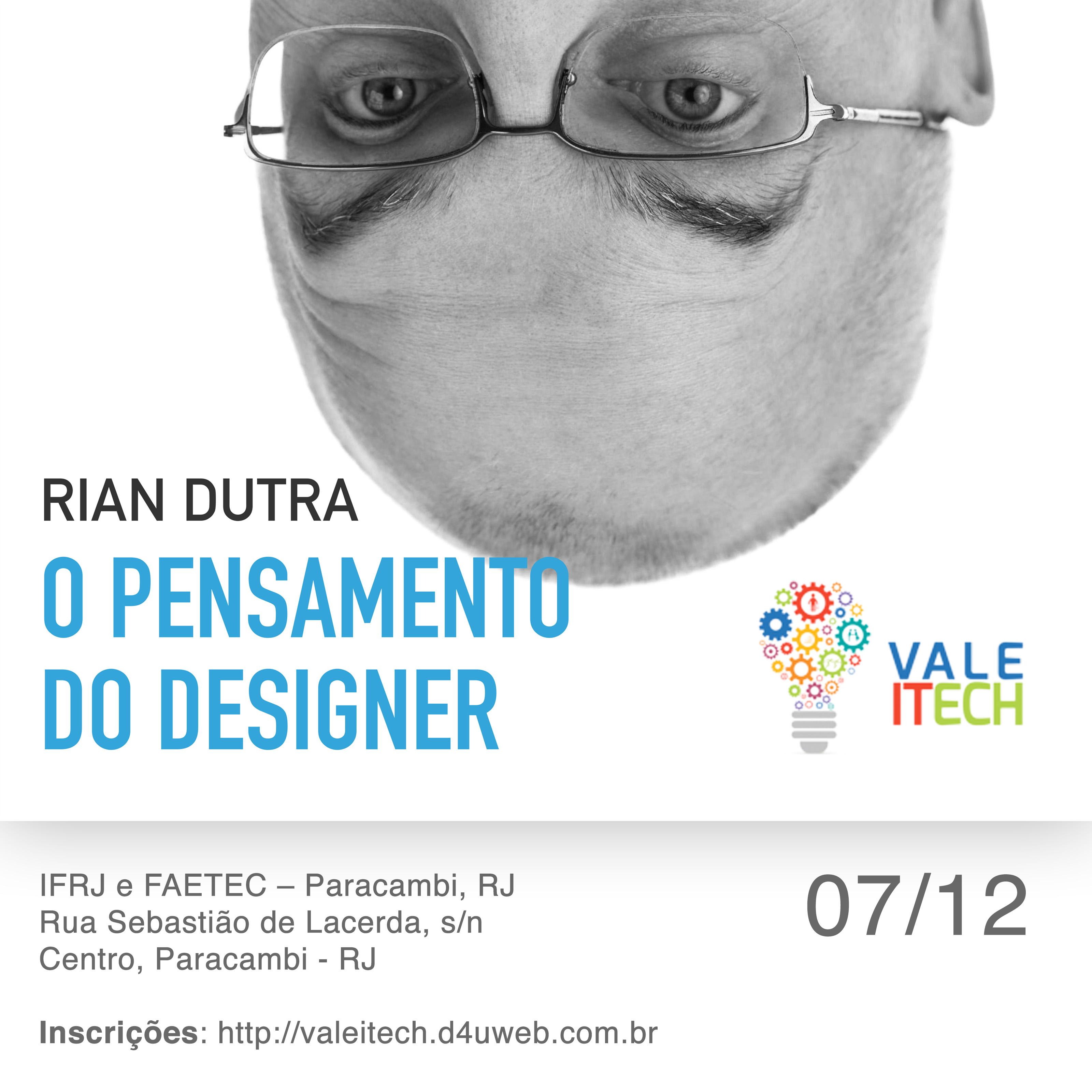 Palestra de Design - O pensamento do Designer