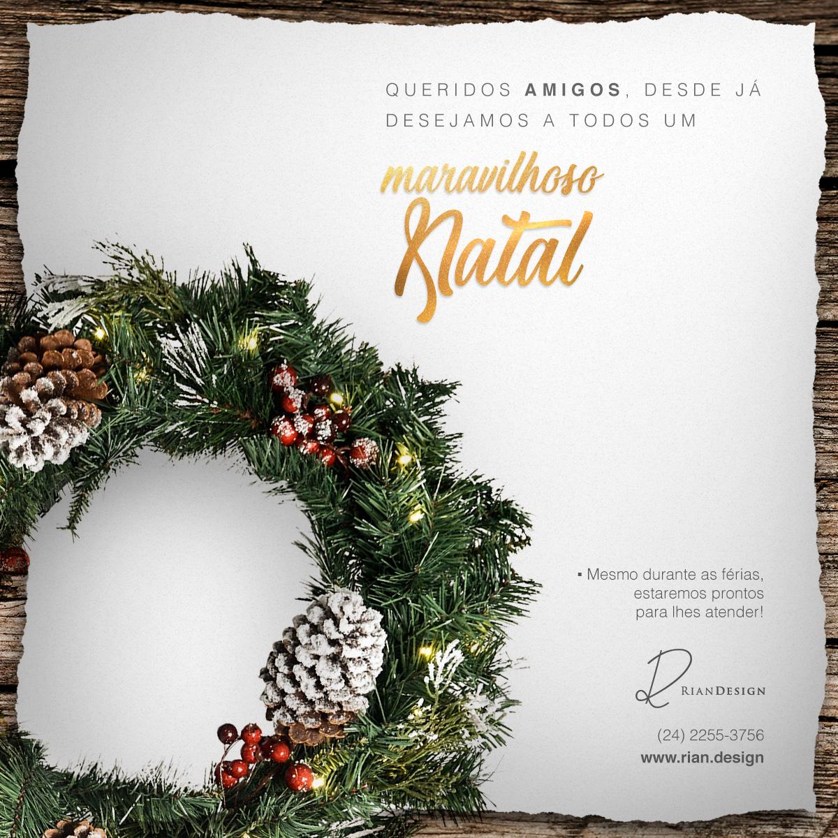 Feliz Natal da Rian Design